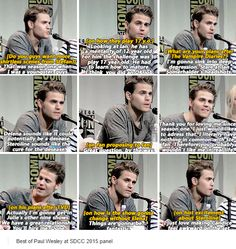 XD <<< wait Damon was supposed to act like a 17 year old! I thought he was supposed to act 27 wtf Vampire Diaries Quotes, Vampire Diaries Damon, Vampire Diaries The Originals, Vampire Shows, Vampire Daries, Damon And Stefan Salvatore, The Salvatore Brothers, Original Vampire, Paul Wesley