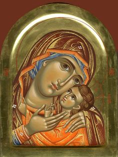Icon - Mother of God Religious Pictures, Religious Icons, Religious Art, Byzantine Icons, Byzantine Art, Blessed Mother Mary, Blessed Virgin Mary, Church Icon, Russian Icons