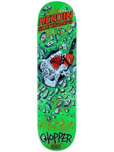 Heroin Skateboards Drops Similar To Street Sharks Cartoon