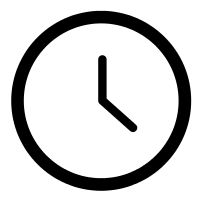 clock icon designed by Tom Walsh