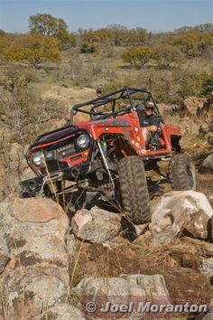 Rock Crawling one of the funnest experiences of my life! My husband builds  crawlers like no other! Trying to get him to do another!