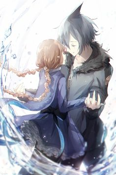 Wadanohara and the Great Blue Sea Fanart Wadanohara and Samekichi Manga Love, I Love Anime, Ib Game, Neko Boy, Rpg Horror Games, Grey Gardens, Cute Games, Sea Art, Deep Sea