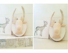 fabric deer head tutorial
