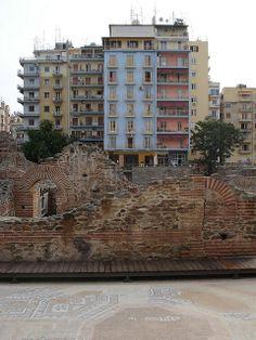Explore Macedonia: Roman ruins in Thessaloniki, Greece Beautiful Islands, Beautiful Places, Myconos, Creta, Ancient Greece, Greece Travel, Athens, Places To See, Learn Greek