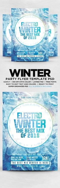 Summer Electro House Sensations Flyer | Party Flyer