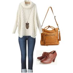 Outfit for Oxford heels