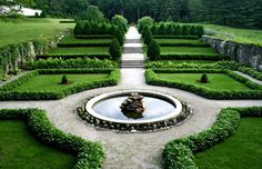 """The beautiful grounds of Edith Wharton's home (known as The Mount) were designed by the famed author, who believed that a garden should possess """"a charm independent of the seasons."""" From the formal Italianate walled garden to the outdoor rooms, you'll see why Wharton was regarded as a leading expert in European landscape and garden design.  See more at The Mount »"""