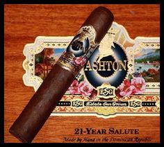 Ashton ESG 21 Year Salute Cigars