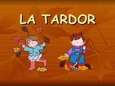 Power Point De La Tardor Class Projects, Conte, Art Activities, Peace And Love, Arts And Crafts, School, Videos, Illustration, Fictional Characters