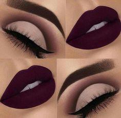 Gorgeous Makeup: Tips and Tricks With Eye Makeup and Eyeshadow – Makeup Design Ideas Makeup Eye Looks, Smokey Eye Makeup, Cute Makeup, Gorgeous Makeup, Pretty Makeup, Purple Makeup, Awesome Makeup, Beautiful Lips, Perfect Makeup