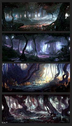 ArtStation - Forest Mood, Denis Sheptura