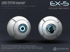 EX-5 CYBER EYES V.4 (LASER / BASIC) *NEW*
