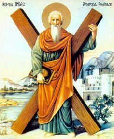 St. Andrew the Apostle - One of Jesus' Twelve Disciples or Apostles