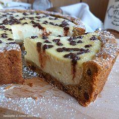 Ricotta Cheesecake, Italian Desserts, Sweet Cakes, Pinterest Recipes, Antipasto, Cheesecakes, Sweet Recipes, Healthy Recipes, Biscotti