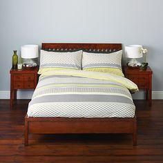 Buy John Lewis Nanako Cotton Bedding from our Duvet Covers range at John Lewis. Home Bedroom, Master Bedroom, Bedroom Decor, Bedroom Interiors, Bedrooms, Bedroom Ideas, King Size Duvet Covers, Duvet Cover Sets, Beds Online