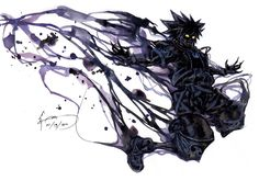 Kingdom Hearts 2 - Anti Sora Form by Nick-Ian on DeviantArt