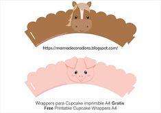 Mamá Decoradora: Kit Imprimible La Granja Gratis Farm Animal Cupcakes, Farm Animal Party, Farm Animal Birthday, 1st Boy Birthday, Party Kit, Pig Party, Farm Themed Party, Barnyard Party, Farm Party Decorations