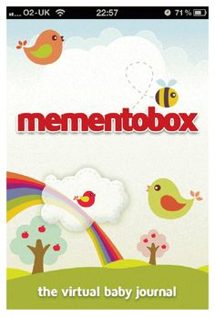 Mementobox is a new iPhone app which it's hoped will see more parents stick with creating a baby memory box by digitizing the process. Journal App, Baby Journal, Work Colleague, Baby Memories, First Pregnancy, New Iphone, Parenting, Kids Rugs, Screen Shot