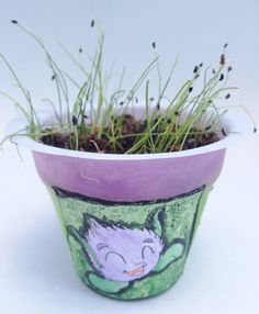 There are so many reasons to grow chives with children.
