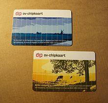 Een bekende vorm van NFC is de OV-Chipkaart. Deze elektronische betaalpas wordt gebruikt om in het openbaar vervoer te betalen. Deze techniek wordt toegepast in de bus, tram, trein, metro en vervoer te water. Het voordeel is voornamelijk de snelheid waarmee mensen kunnen inchecken, in vergelijking met het aanschaffen en afstempelen van een strippenkaart.