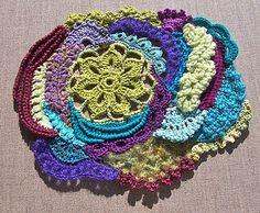 free form inspiration Freeform Crochet, Crochet Art, Irish Crochet, Crochet Toys, Lace Fabric, Fiber Art, Tatting, Embroidery, Stitch