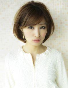 大人可愛い髪型ショートボブ☆ | ヘアスタイル | AFLOAT JAPAN / アフロートジャパン 【銀座の美容室】 【東京都中央区】