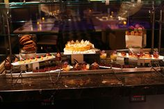 The Chocoholic's Dessert Bar at Hyatt Regency New Orleans. All you can eat chocolate? I've died & gone to heaven.