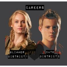 Are cato and glimmer dating