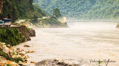Rzeka Ganges w Indiach - biotopy azjatyckie mają bardzo wielu zwolenników przy odtwarzaniu.
