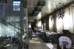 Silver Restaurant, Silver Leaf on Ceiling Artisan, Ceiling, Restaurant, Projects, Silver, Painting, Log Projects, Blue Prints, Money
