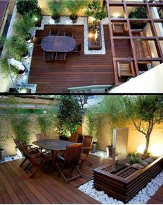 Small Back Patio Design Ideas - 41 Backyard Design Ideas For Small Yards Rooftop Terrace Design 41 Backyard Design Ideas For Small Yards Small Garden Design 41 Backyard Design Ideas . Small Backyard Landscaping, Backyard Patio, Landscaping Ideas, Wood Patio, Desert Backyard, Backyard Ideas For Small Yards, Pergola Garden, Garden Ideas For Small Spaces, Balcony Garden
