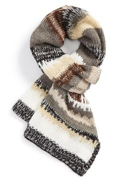 Michael Stars 'Painted Desert' Striped Scarf available at #Nordstrom