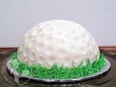 Golf Ball First Birthday Smash Cake