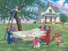 """Bushel of Fun""   John Sloane Art"