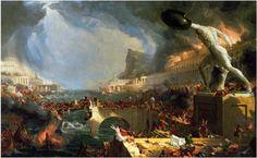 Thomas Cole, Course of Empire: Destruction