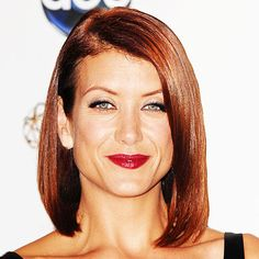 red bob Kate Walsh - Transformation - Beauty - Celebrity Before and After