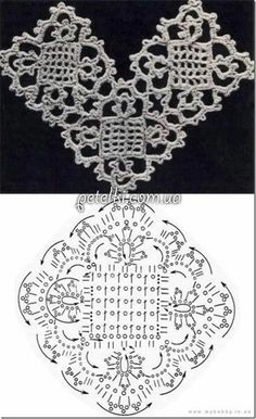 Transcendent Crochet a Solid Granny Square Ideas. Inconceivable Crochet a Solid Granny Square Ideas. Crochet Motif Patterns, Crochet Diagram, Crochet Chart, Crochet Squares, Crochet Stitches, Knitting Patterns, Granny Squares, Thread Crochet, Dress Patterns