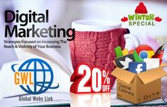 We are an end-to-end service #Digital #Marketing Company located in #Lucknow, with other branches in Lucknow and #Varanasi. Having accomplished numerous projects in every #domain of #web site #development and #designing. Visit Us: http://www.globalwebslink.com/