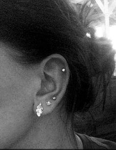 ••Third hole piercing & cartilage••