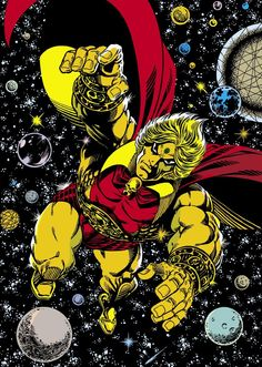 Warlock (Adam Warlock) Infinity Watch, Guardians of the galaxy Marvel Comics Cosmic Comics, Marvel Comics Art, Marvel Comic Universe, Marvel Comic Books, Comics Universe, Comic Book Heroes, Marvel Heroes, Comic Books Art, Comic Book Artists