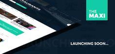 Arriving Shortly : The Maxi – Magazine WordPress Theme