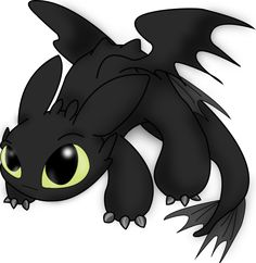 Chibi Toothless (How to Train Your Dragon) - fantasy Photo