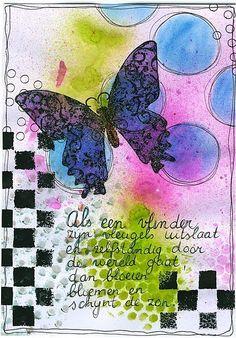 Als een vlinder...