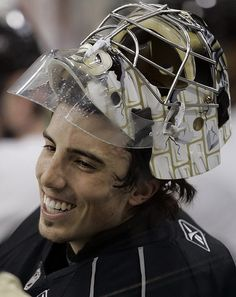 Marc-Andre Fleury <3.    Nothing sexier than a hockey player <3.