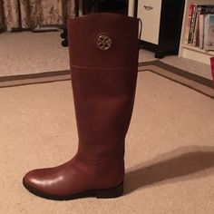 Tory Burch Junction riding boots Brand new with box and gift bag Tory Burch Shoes Winter & Rain Boots