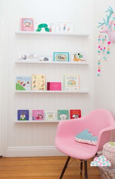 Modern Girls Bedroom - Petite Vintage Interiors Children's Interior Design