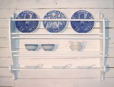 Scandinavian plate rack
