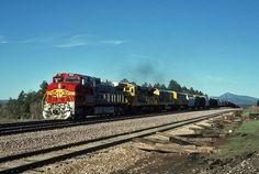 https://flic.kr/p/UYLVDU | Atchison, Topeka & Santa Fe GE C-44-9W 620 | Williams, Arizona
