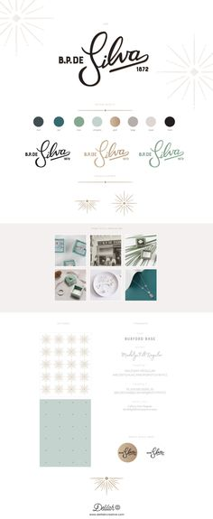 Logo and Brand Identity Toolkit for Heritage Jewellery Brand BP de Silva by Delilah Creative | www.delilahcreative.com