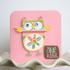 Create a Year of Cards: As Featured in Cards Magazine #owls